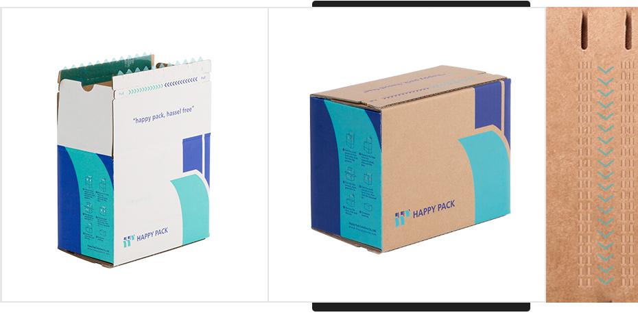 普通拉链纸箱