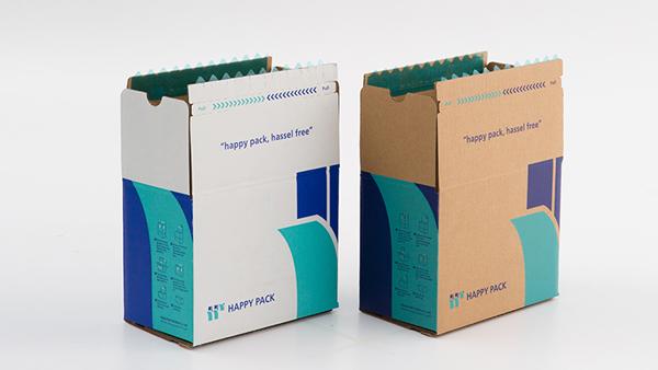 拉链纸箱厂家浅谈纸箱包装设计的四种方式