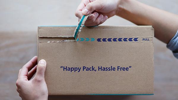可撕拉快递箱厂家教你如何选择纸箱